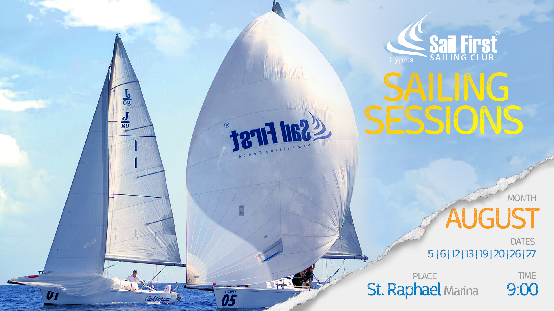 SailFirst J80 Sailing Sessions Cyprus